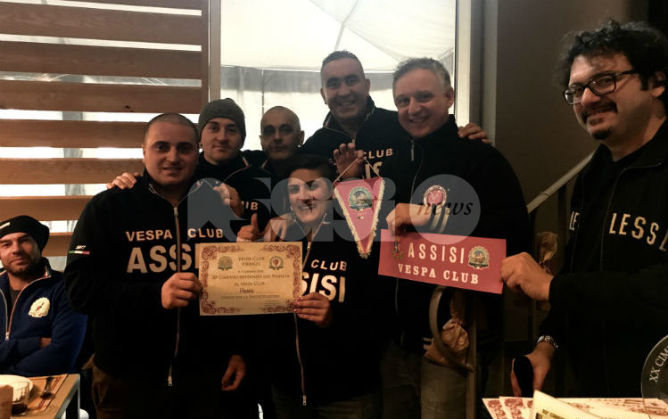 "Da AssisiNews.it ""Il Vespa Club Assisi al Raduno Nazionale del Vespa Club Firenze"""